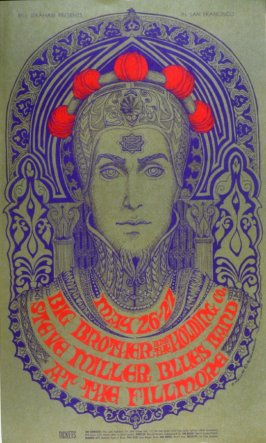Big Brother & the Holding Company, Steve Miller Blues Band, May 26 - 27, Fillmore Auditorium