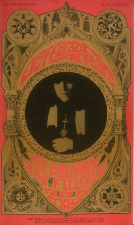 Jefferson Airplane, Paupers, May 12 - 14, Fillmore Auditorium