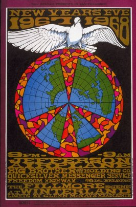 Jefferson Airplane, Big Brother and the Holding Company, Quicksilver Messenger Service, Freedom Highway, December 31, Winterland