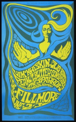 Jim Kweskin Jug Band, Peanut Butter Conspiracy, Sparrow, June 2 & 3, Fillmore Auditorium