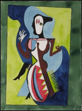 Untitled (Cubist Female Figure)