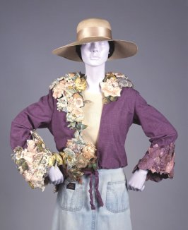 Chintz flower jacket
