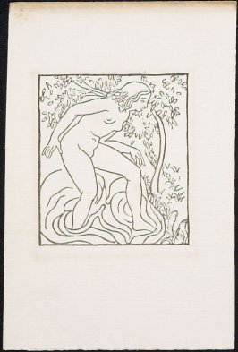 Daphnis and Chloe: Chloe Bathing in a Spring