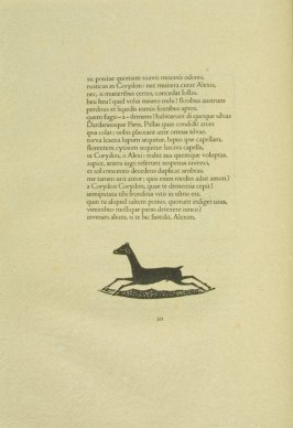 Untitled, pg. 20, in the book Les Éclogues de Virgile by Virgil (translation by Marc Lafargue) (London: Ebery Walker Limited (for Cranach Presse, Weimar), 1926)