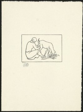 Untitled (Woman Milking a Goat)
