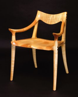 """Fiddleback"" Side chair"
