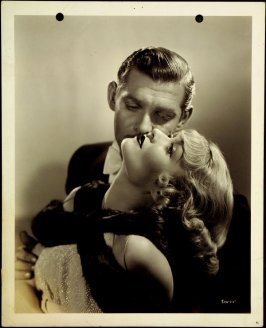 Clark Gable and Constance Bennett (film still)