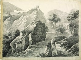 Landscape with Classical Buildings