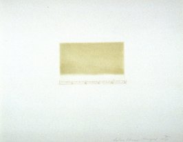 Untitled (Aquatint), pl. 1 from the portfolio Aquatint, Sugarlift and Golden Changes (New York: Parasol Press LTD: 1977)
