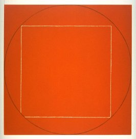 Untitled (Orange) from the portfolio, Seven Aquatints