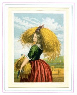 Young Peasant carrying a bundle of corn