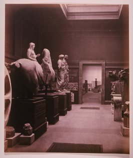 Antique Sculpture Galleries in the British Museum