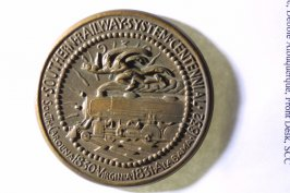 Medal: centennial of the Southern Railway (1830-1930)