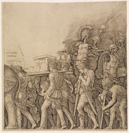 The Corselet Bearers, from the series Triumph of Caesar