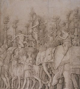 The Elephants, from the series Triumph of Caesar