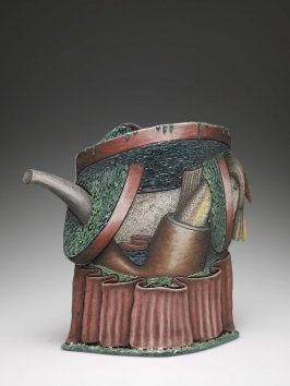 Tail Pipe Teapot