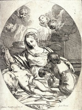 The Madonna with the Young Christ Sleeping