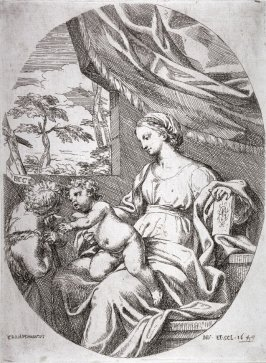 The Virgin and Child with the Young St. John the Baptist
