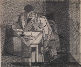 Untitled (Man at Table)