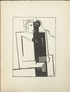 Untitled in the book Le Volant D'Artimon Poèms by Paul Dermée (Paris: J. Povolozky, 1922)