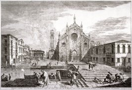 Campo dei Frari, pl. 20 from the series Magnificentiores Selectioresque Urbis Venetiarum Prospectus (Views of Venice)