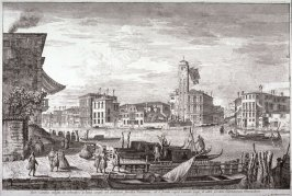 Cannareggio, pl. 14 from the series Magnificentiores Selectioresque Urbis Venetiarum Prospectus (Views of Venice)