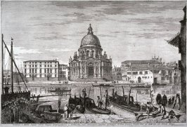 Santa Maria della Salute, pl. 9 from the series Magnificentiores Selectioresque Urbis Venetiarum Prospectus (Views of Venice)
