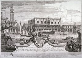 The Piazzetta and Ducal Palace, pl.1 from the series Magnificentiores Selectioresque Urbis Venetiarum Prospectus (Views of Venice)