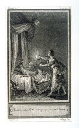 Barbare, est-ce la la recompense de tant d'Amour - one from set of 86 engravings