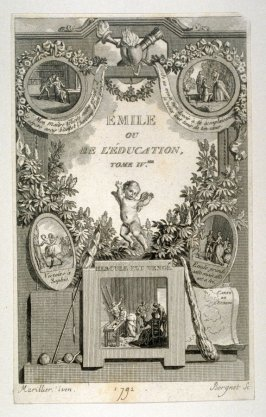 Titlepage - Emile ou De L'Education, Tome IV