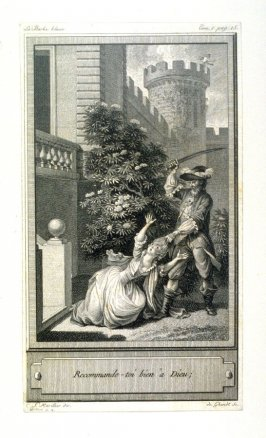 86 engravings from one set: Recommande-toi bien a Dieu