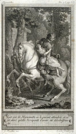 86 engravings from one set: Les cris de Mignnonette...