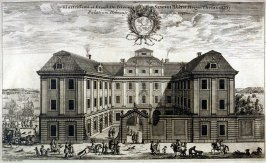 Palace Holmense, from Suecia Antiqua et Hodierna (Ancient and Modern Sweden)