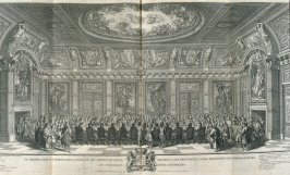 Le Grande Salle d'Audience (The Trèvezaal, The Hague, Holland) - Pl.1 from: Netherlands 1566-1672