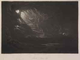 [Creation of Light], Book 7 line 339, bound at p. 205 in the book, The Paradise Lost of Milton (London: Charles Tilt, 1838)