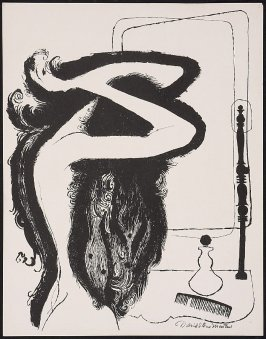 Untitled (Woman Combing Her Hair)
