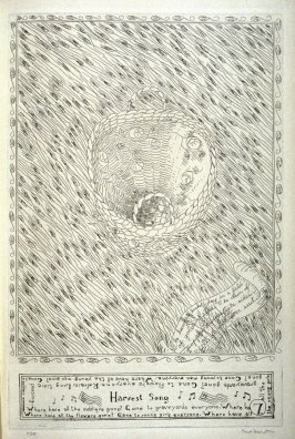 Waving Grain, pl. 7 from Beulah Land: Fifteen Etchings by Fred Martin (Berkeley: Crown Point Press, 1966)