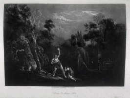 [Adam Reproving Eve], Book 10, line 863, bound at p. 311 in the book, The Paradise Lost of Milton (London: Charles Tilt, 1838)