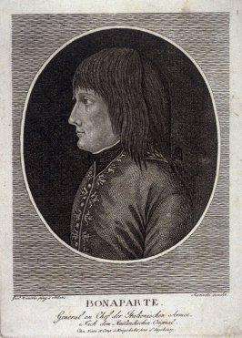 Bonaparte, after a drawing by Milan