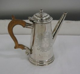 Georgian coffeepot