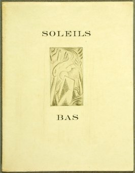 Untitled, cover illustration for the book Soleils bas (Setting Suns) by Georges Limbour (Paris: Éditions de la Galerie Simon [Kahnweiler], 1924)