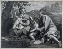 The Holy Family with St. John