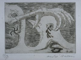 Untiltled, illustration 4, in the portfolio Solidarité by Paul Eluard (Paris: G.L.M., 1938)n