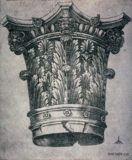 Corinthian Capital of an Antique Column