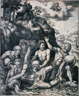 River Gods Consoling Peneus on the Loss of his Daughter, from the series The History of Apollo and Daphne
