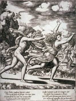 Apollo Chasing Daphne, from the series The Story of Apollo and Daphne