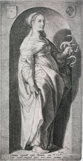 Prudence, for a series of The Seven Virtues