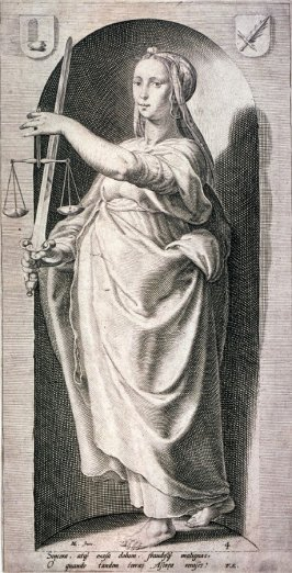Justice, for a series of The Seven Virtues