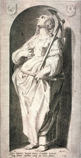 Hope, for a series of The Seven Virtues