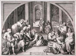 Christ Washing the Feet of the Apostles [John 13:6-11]